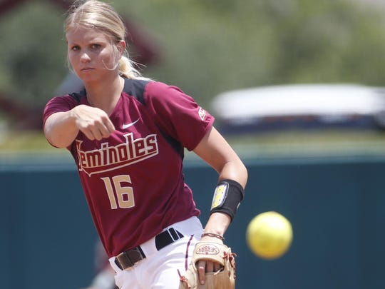 FSU's Jessica Burroughs earned ACC Pitcher of the Year honors and is part of a strong pitching duo for Florida State.