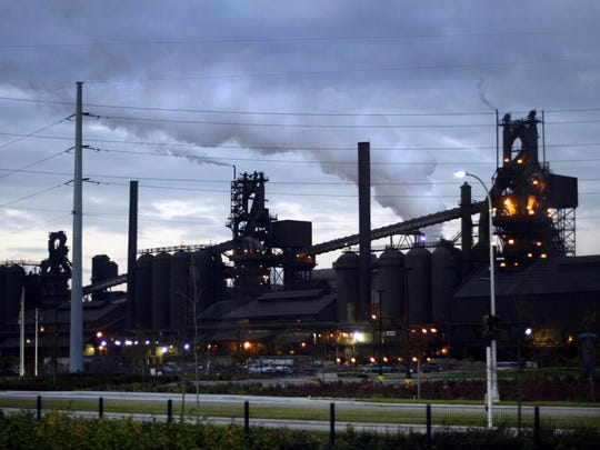 The AK steel plant in Dearborn is among the customers served by Dearborn Industrial Generation.