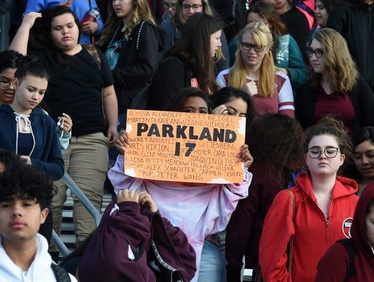 Student walkout Reno