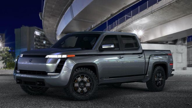 Lordstown Motors' Endurance battery-operated pickup is designed for fleet use. A partnership with Camping World announced this week means the next vehicle produced in Lordstown could be an eRV.