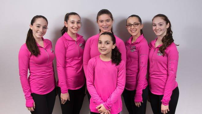 Members of the Yonkers Figure Skating Club's Team Image synchronized skating team