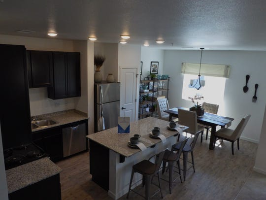 A 2-bedroom unit in Fountainhouse, a multi-family urban-style