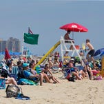 Beach report: Bacteria widespread, 34 NJ beaches on notice