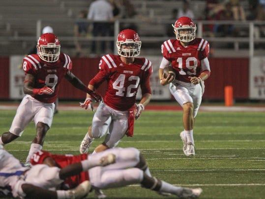 Ruston High vs. Jonesboro Hodge High Football