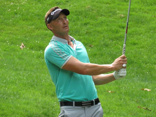 Pro Tyler Hall won the New Jersey Open golf title in 2015 and 2016.