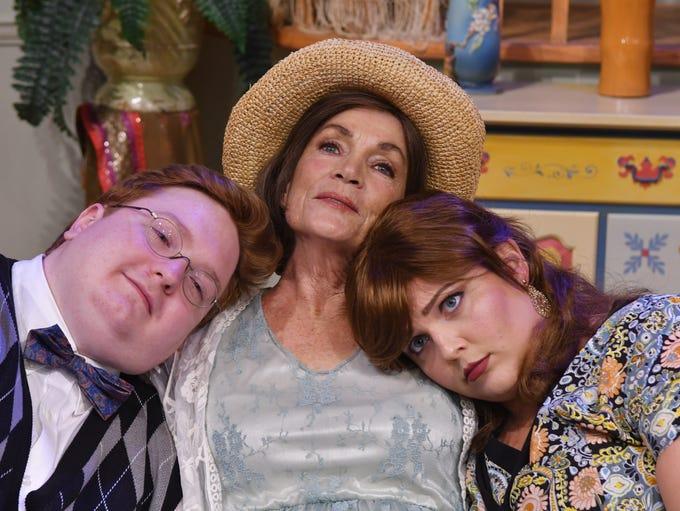 Robert Berry as Simon, Kathy Minzenberger as Judith,