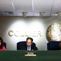 County Commissioners discuss bringing the Atlanta Braves to Collier County for spring training at the Collier County Commission Chambers on Tuesday, June 28, 2016. County commissioners voted 5-0 to continue communications with the Atlanta Braves about the proposed spring training site in Collier County.