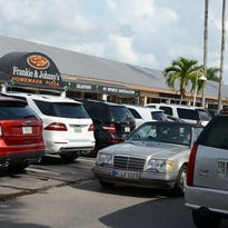 The Marco Walk Shopping Center currently has 315 parking spots, 27 of which are off-site. The planning board approved a resolution amendment to allow the shopping center to lease 27 off-site parking spots from the Jewish Congregation Center of Marco Island at its July 1 meeting. Lisa Conley/Staff