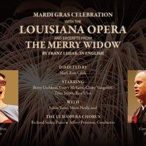 La. Opera celebrates Mardi Gras with 'The Merry Widow' Friday