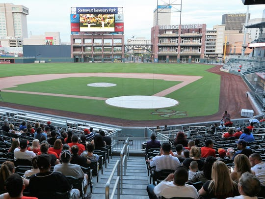 The 7,500-seat Southwest University Park opened in April 2014.