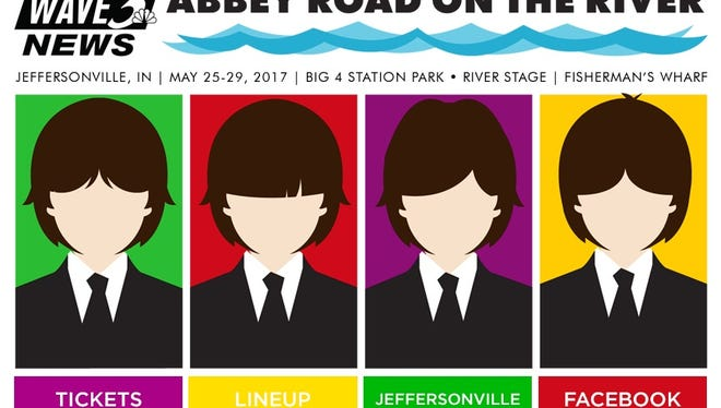 Abbey Road on the River returns May 25-29 in Jeffersonville, IN.
