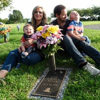 """Ayva Devorah Yeary is buried with other stillborn babies in a section of Hendersonville Memory Gardens called """"Babyland."""""""