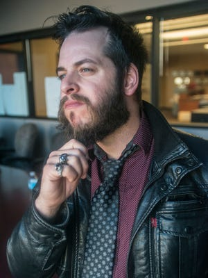 Justin Turberville is active in Montgomery as a solo artist and as part of the rocking duo The Lookdowns.
