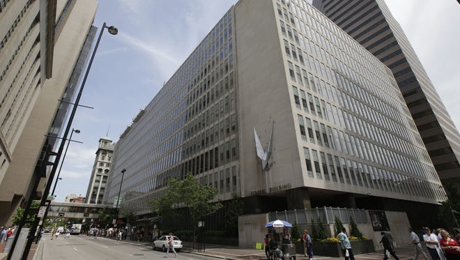 The John Weld Peck Federal Building houses the Cincinnati offices of the IRS.
