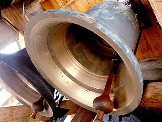The National Park Service is calling on congregations and communities to ring bells Thursday afternoon to mark the symbolic end of the Civil War.