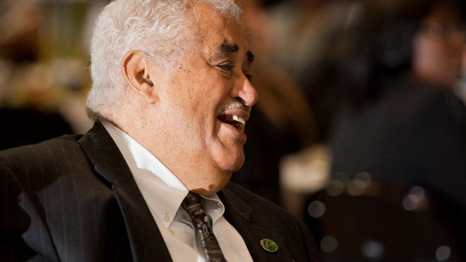 Former FAMU president Frederick Humphries says he's willing to help raise money for athletics.