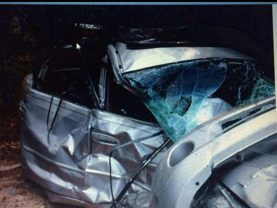 A car wreck nearly killed Krystle and her son.