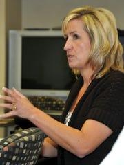 Michelle Irwin, former Brevard Public Schools spokeswoman. She was replaced by Matt Reed in January 2017.