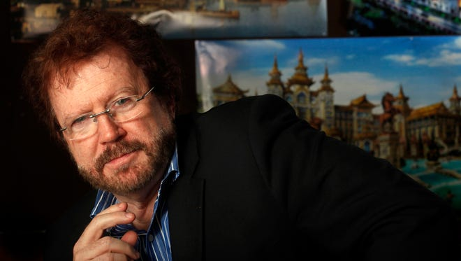 Gary Goddard in his North Hollywood office meeting room on Jan. 15, 2015.