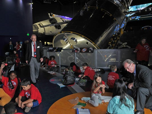 Space school at KSC Visitor Complex