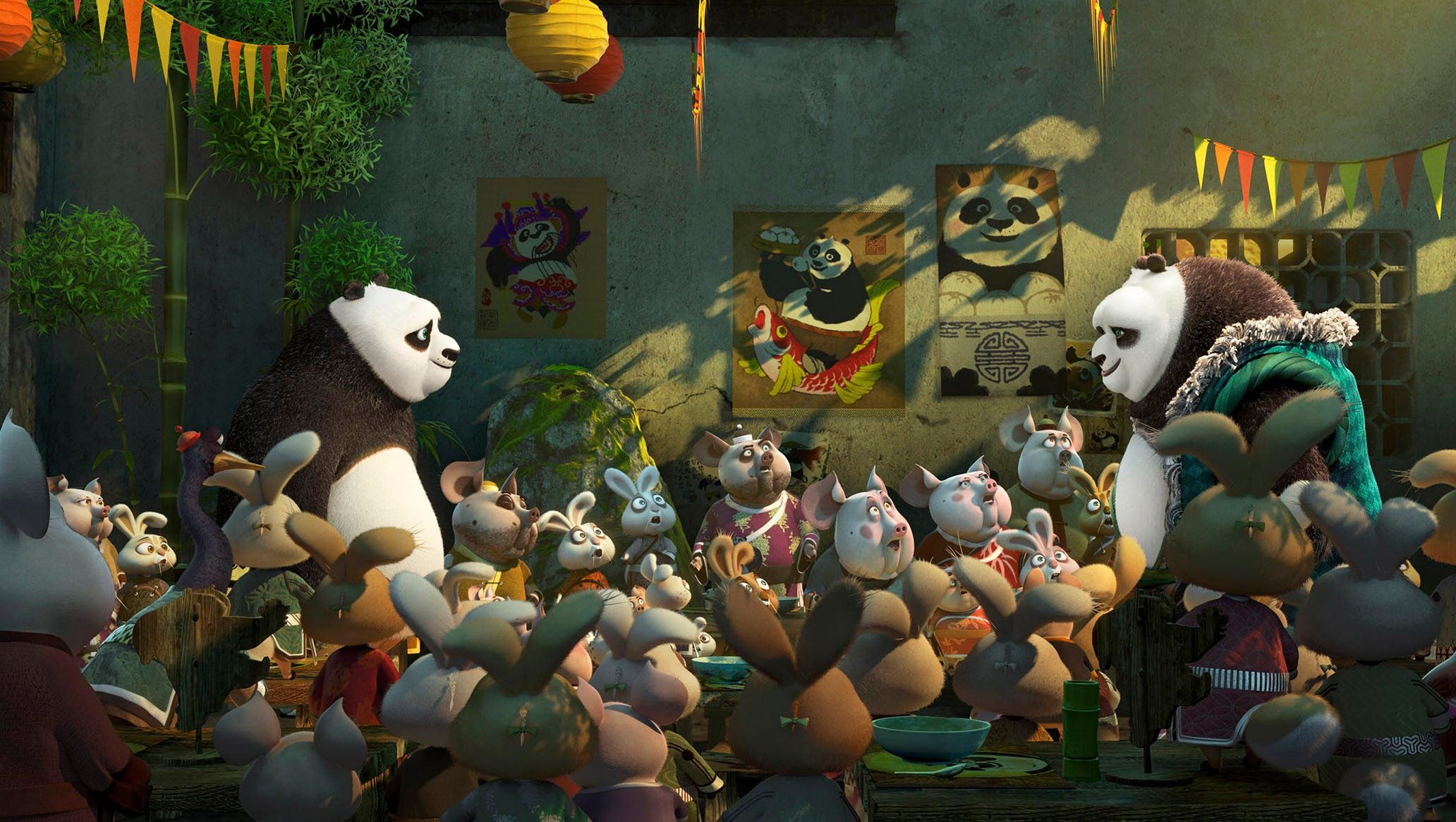 Movie Addict Discover Your Chi With Kung Fu Panda 3
