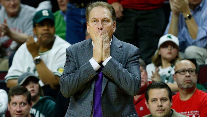 Michigan State Spartans head coach Tom Izzo