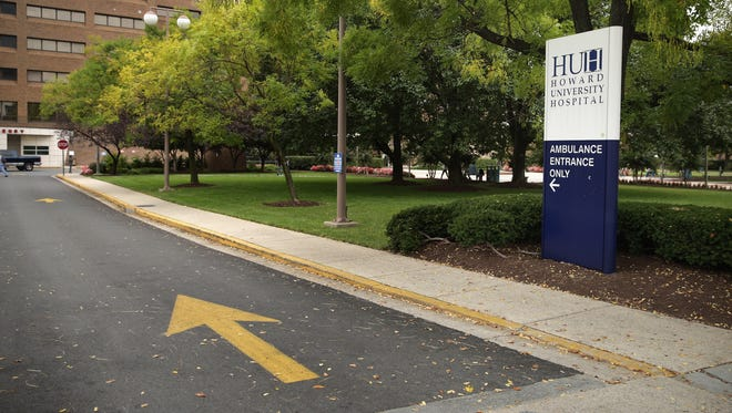 Howard University Hospital in Washington has admitted a patient with Ebola-like symptoms, according to a hospital spokesperson on Oct. 3, 2014.