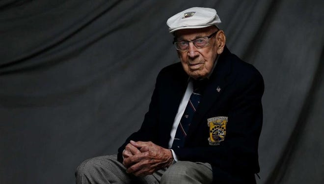 Richard E, Cole, 101, is the last surviving member of Doolittle's Raiders, who  staged a surprise air attack on Japan in April 1942.