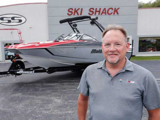 Greg Mustain is the owner of The Ski Shack in Springfield.