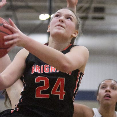 'Other' sophomore center leads Brighton girls past Hartland