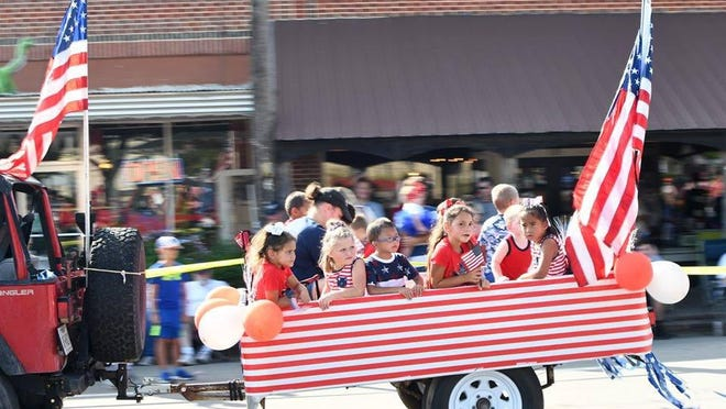 A photo from last year's Old Fashioned Hometown Fourth of July parade.