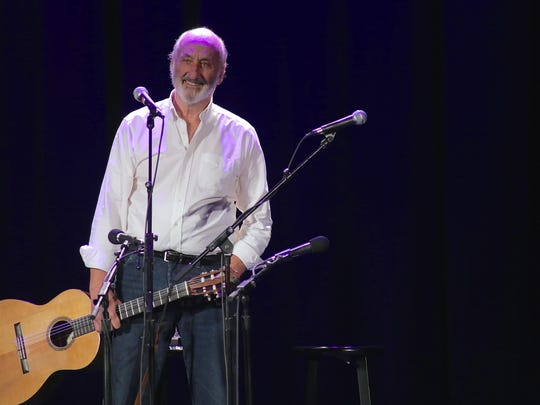 Noel Paul Stookey will perform at the Rubicon Theatre in Ventura on Tuesday.