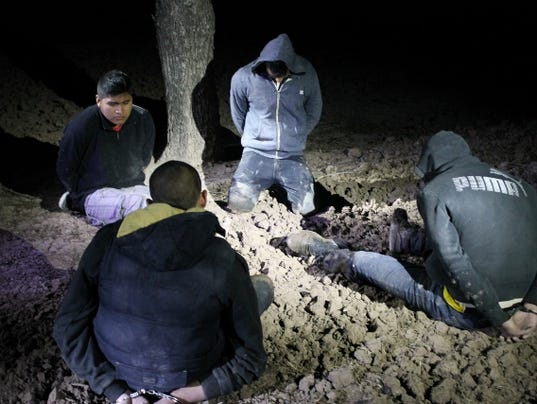 smugglers arrest