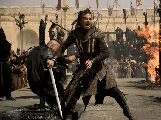 Michael Fassbender as Callum Lynch in a scene from