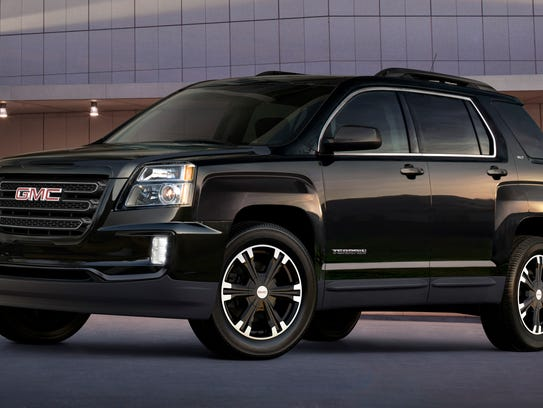 2017 GMC Terrain Nightfall Edition will be on display