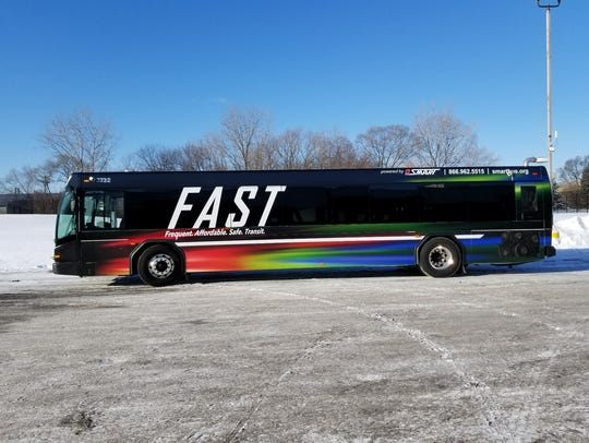 SMART has unveiled its new FAST bus service which will