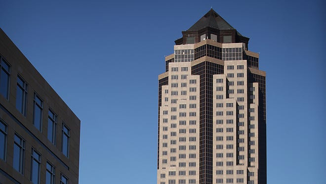 Mortenson was the general contractor for 801 Grand, the city's tallest building. Elsewhere in Iowa, Mortenson's projects include the Marriott hotel and convention center in Coralville and the 2006 renovation of Kinnick Stadium.