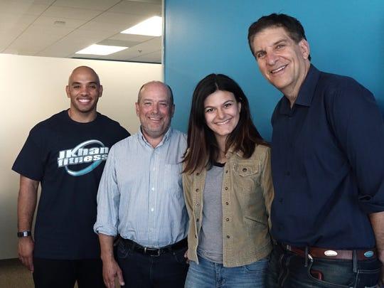 This week's #TalkingTech panel: Jarek Kahn, Mike Phillips,