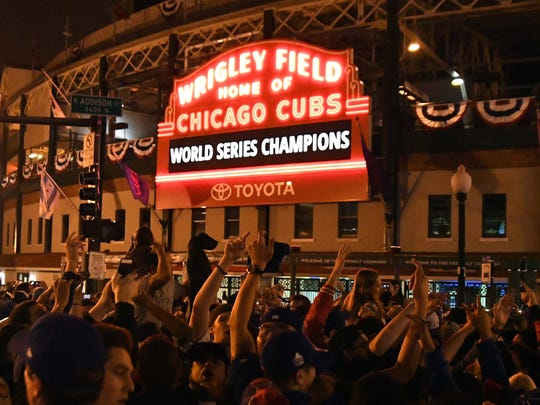 Former Cubs manager Mike Quade admitted he was happy for Cubs fans everywhere when the team ended its 108-year title drought.