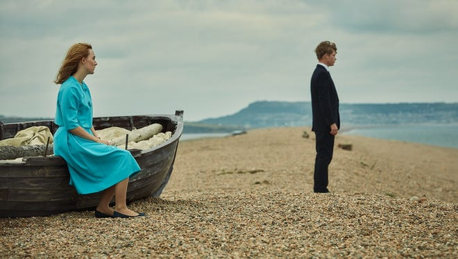 """Saoirse Ronan (left) and Billy Howle (right) star in """"On Chesil Beach."""""""