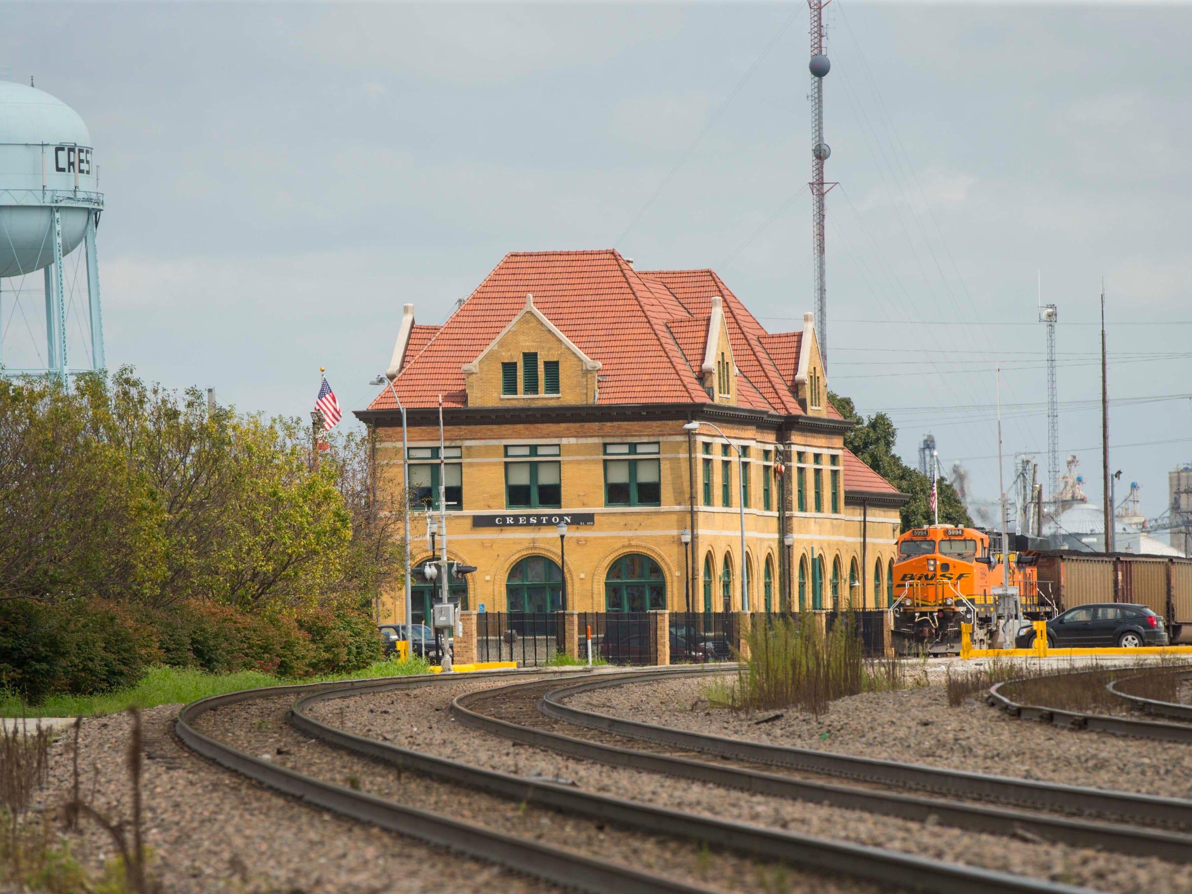 The Chicago, Burlington and Quincy Railroad-Creston