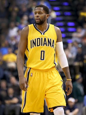 C.J. Miles is getting comfortable with his new Pacers teammates.