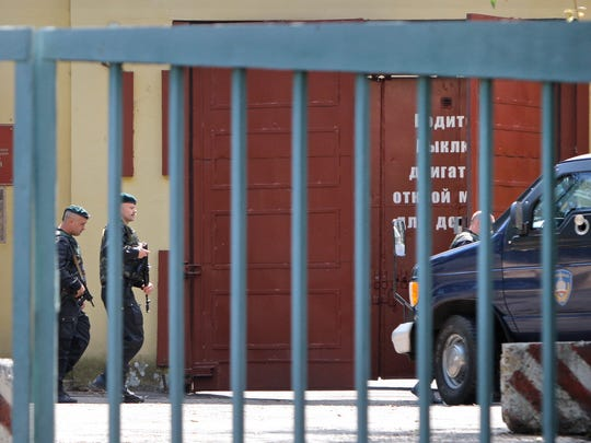 Moscow's notorious Lefortovo prison, shown in a 2010 file photo, is where Michigan businessman Paul Whelan is being held on charges of espionage.