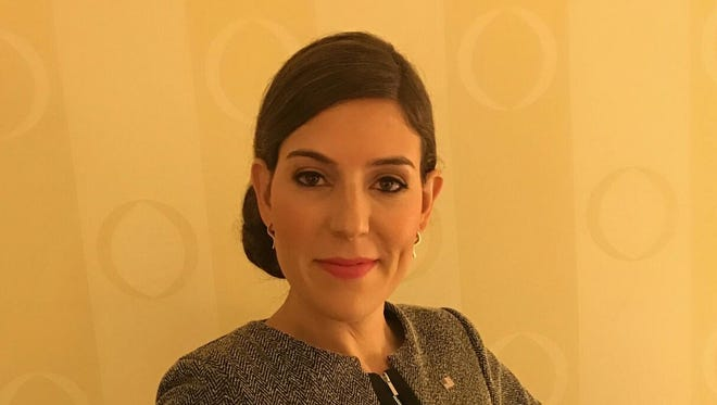 Lena Epstein was co-chair for the Trump Michigan Campaign.