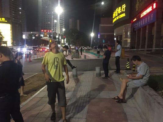 CHINA-DISASTER-EARTHQUAKE