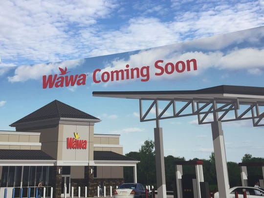 A Wawa will replace a mini-mall and auto-body shop on Haddonfield Road in Cherry Hill.