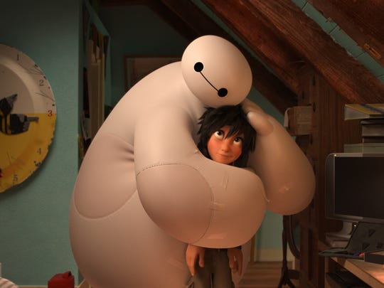 """Robot Baymax held the emotional and action-packed """"Big"""