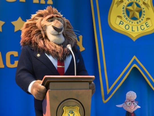 Mayor Lionheart took the job as mayor in the final