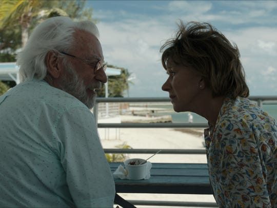 "Donald Sutherland and Helen Mirren star in ""The Leisure"