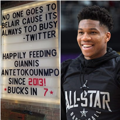 Tosa BelAir Cantina uses humor as a sign of moving on after incident involving Bucks star Giannis Antetokounmpo